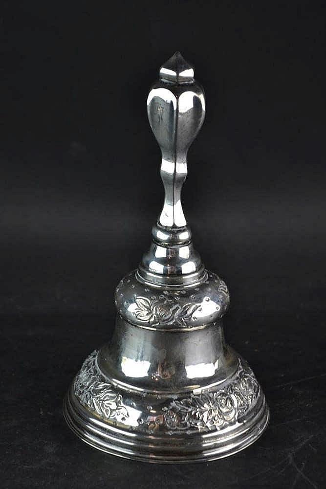 Hollands zilveren tafelbel - circa 1860