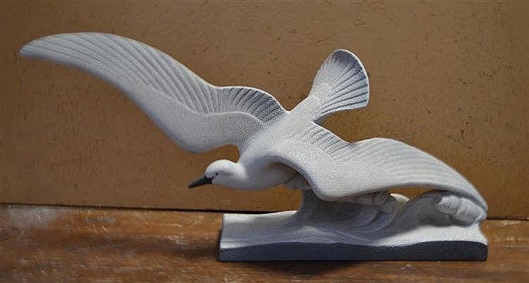Sculptuur zeemeeuw