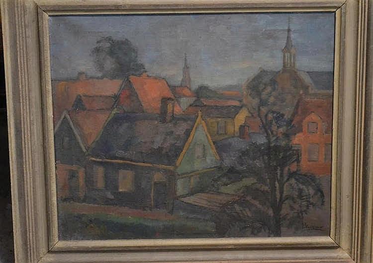 Schilderij - R Molenaar