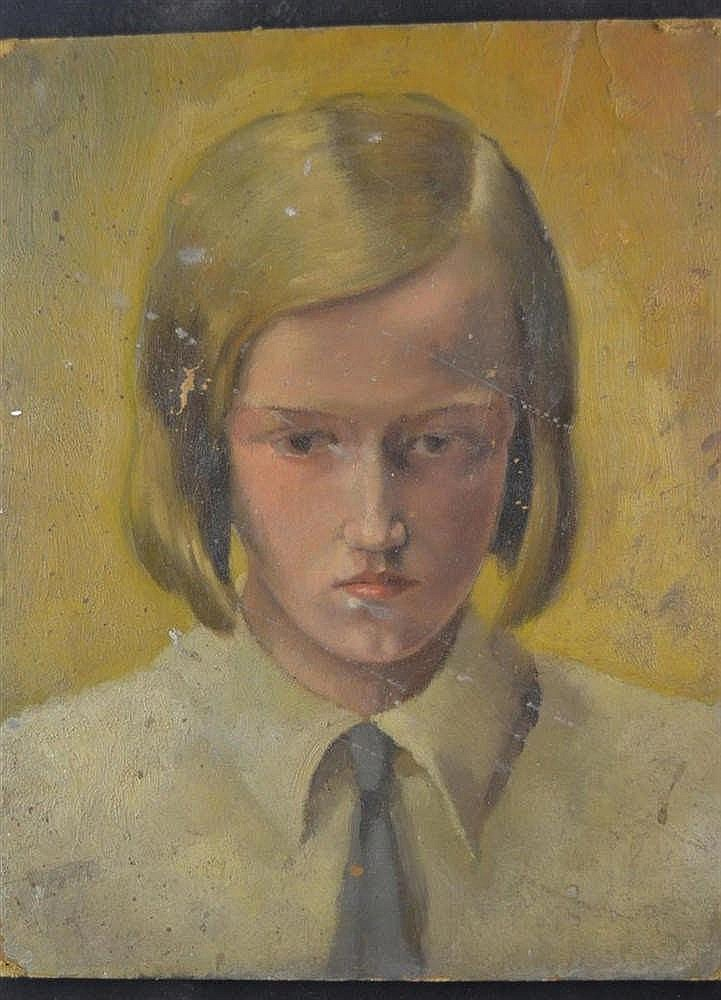 Portret en heilige voorstelling