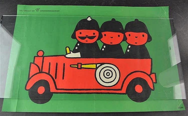 Dick Bruna - Brandweerauto