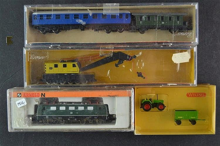 Diverse treinen en wagons