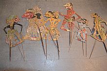 (Indonesian Art) Wayang Golek dolls