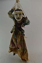 (Asian Antiques) Marrionette doll