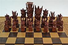 (Indonesian Art) chess game
