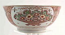 (Asian antiques) Amsterdams bont bowl