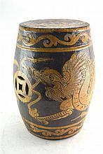 (Asian antiques) gardenseat
