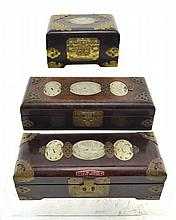 (Asian antiques) Lot boxes