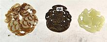 (Asian antiques) Jade amulets