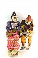 (Asian antiques) Marionette doll