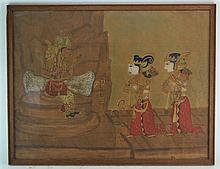 (Indonesian Art) Aquarel