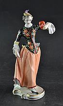 (Antiques) Dresden figure