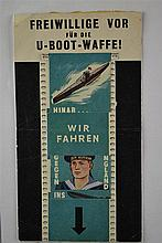 (NSDAP) Flyer U boat volunteerd forward