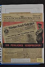 (NSDAP) Handbills/flyers
