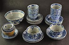 (Asian Antique) Cup and saucers 18th century