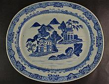 (Asian Antique) Chien lung big plate
