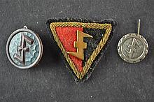 (NSB/WA) Wolfsangel pins