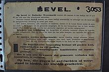 (NSDAP) Razzia order