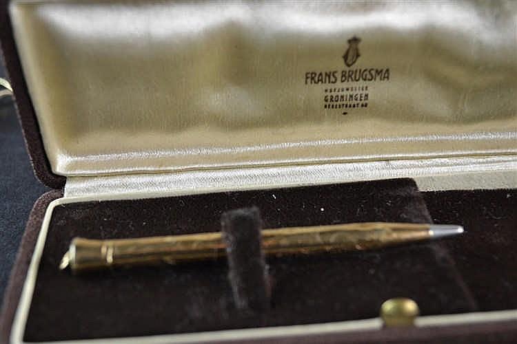 (Antiques) Golden pen