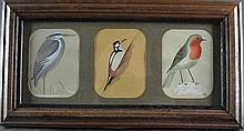 (Paintings) Aquarel birds