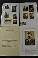 (NSDAP) Documents Kriegsverdienstencross