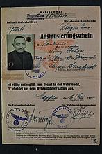 (NSDAP) Ausmusterungsschein