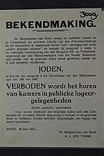 (NSDAP/Antisemitic) Announcement