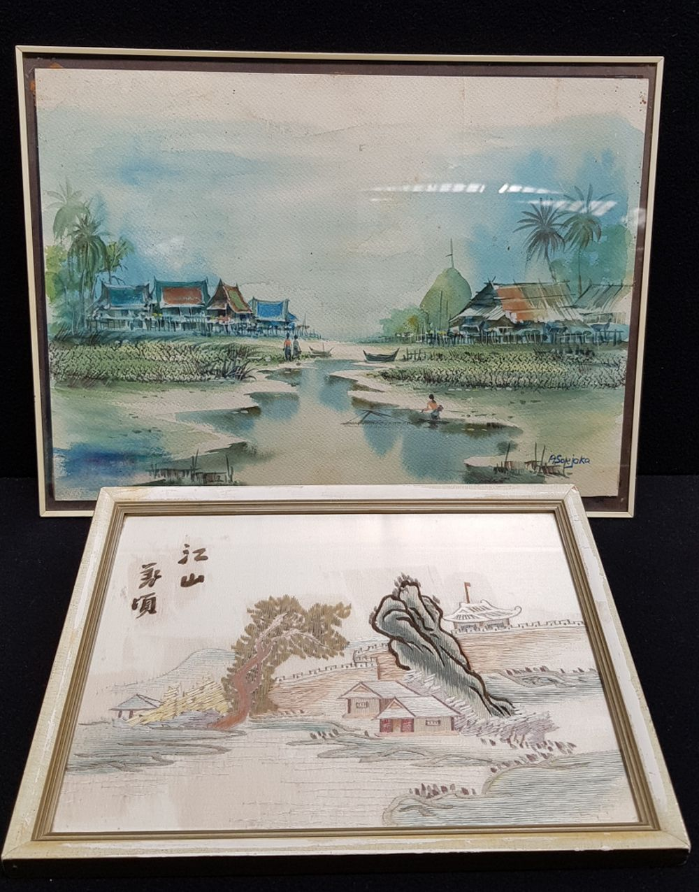 (Asian art) Two Chinese artworks