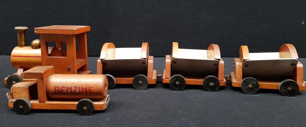 (Toys) Train and truck