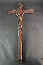 (Antiques) Crucfix on tortoise shell cross