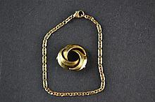 (Jewelry) Golden bracelet