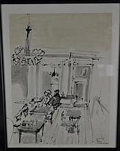 (Art) drawing Huis de Beurs