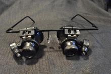 Unused LED Illuminated Jeweler or Hobbyist Magnifying Glasses
