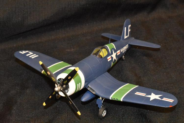 Franklin Mint Armour Collection 1/48 Scale Diecast Model F4U