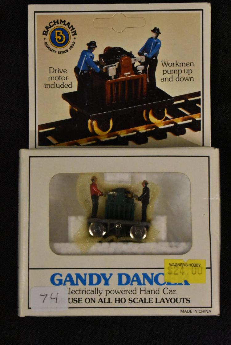 Bachmann Gandy Dancer 46202 HO Scale in Box