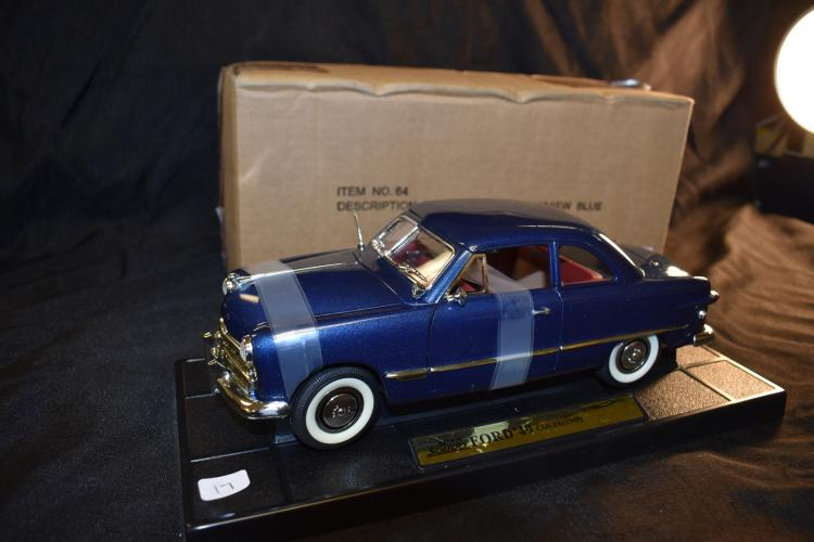Mira Solido 1/18 Scale 1949 Ford Coupe Diecast Model Car