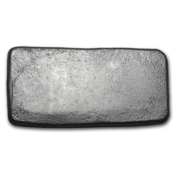 100 Gram Bisbee Silver Bar 999 Pure
