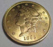 1895 P $20 Gold Liberty Double Eagle NICE!