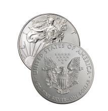 (1)  US Silver Eagle-