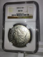 1895 o Au 55 NGC KEY DATE Morgan Silver Dollar