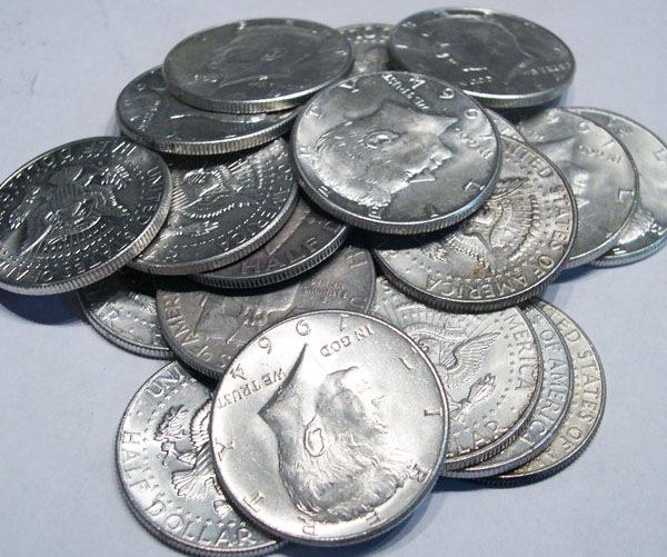 (20) 1964 Kennedy 90% Silver Halves