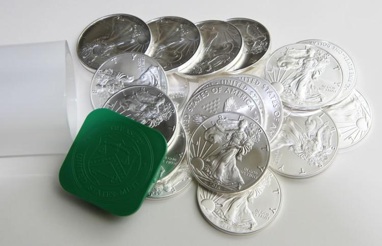 Roll of 20 US Silver Eagles 2016 GEM BU / Better?