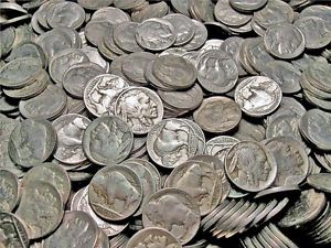 Lot of 319 Buffalo Nickels - All Have Dates -