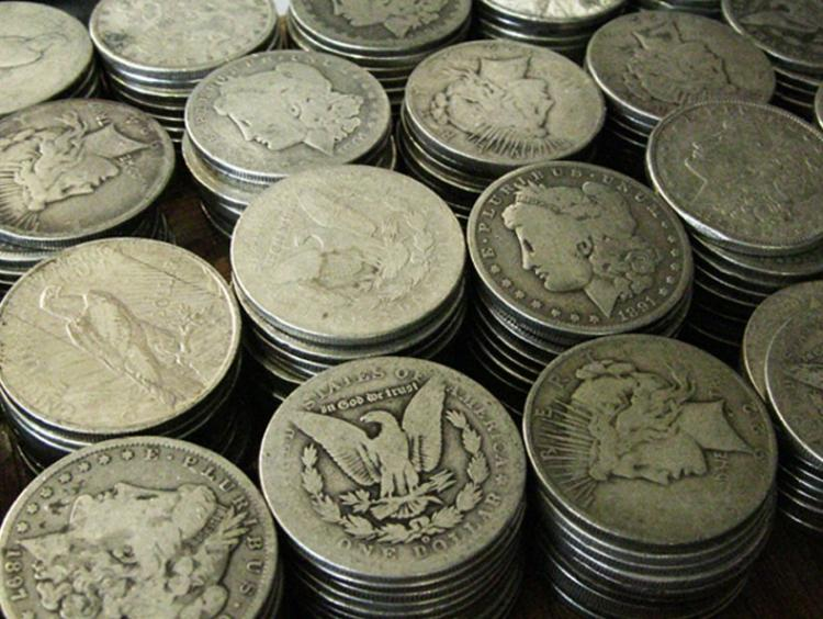 160 - 90% Silver US Silver Dollars - 80/80 P-M