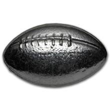 3 oz. Silver Football - Pure .999