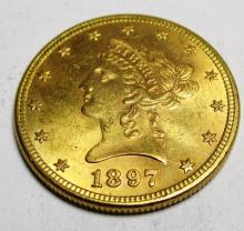 1897 P $10 w/ Original Mint Luster Gold Liberty