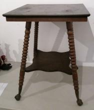 American Oak Clawfoot Parlour Table