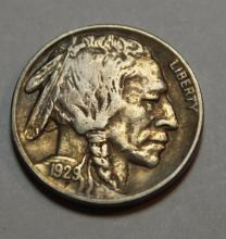 1929 D Buffalo Nickel