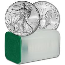 US Mint Roll - 2016 Silver Eagles - 20 pcs