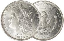 1883 O BU Morgan Silver Dollar - 90% Silver